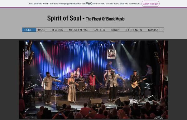 Vorschau von www.spiritofsoul.com, Spirit of Soul