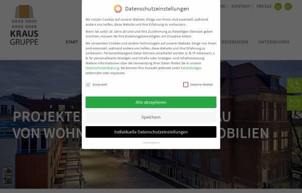 Vorschau von www.kraus-heidelberg.de, Kraus Immobilien GmbH