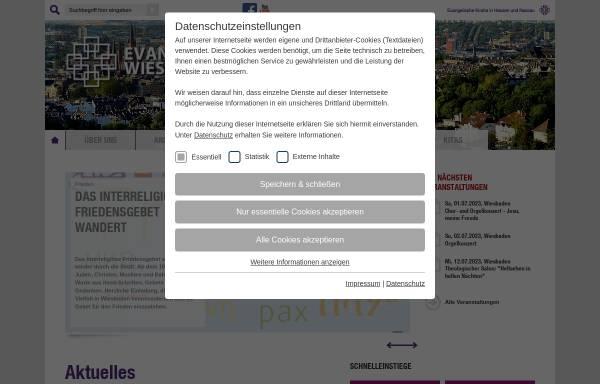Vorschau von www.dekanat-wiesbaden.de, Kirche in Wiesbaden