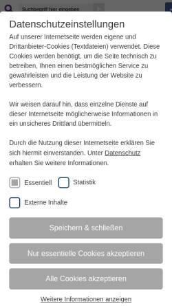 Vorschau der mobilen Webseite www.dekanat-wiesbaden.de, Kirche in Wiesbaden