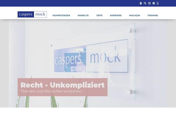 Vorschau von www.caspers-mock.de, Rechtsanwälte Dr. Caspers, Mock & Partner