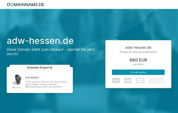 Vorschau von www.adw-hessen.de, Akademie der Wirtschaft Hessen