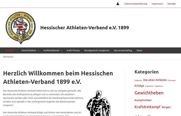 Vorschau von www.hav-hessen.de, Hessischer Athleten-Verband 1899 e.V.