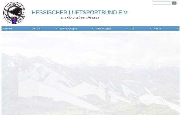 Vorschau von www.hlb-info.de, Hessischer Luftsportbund e.V.