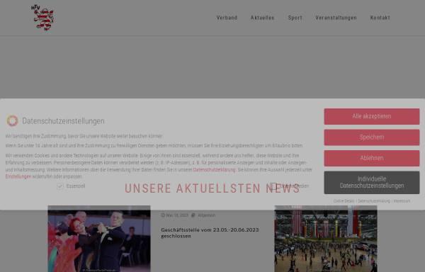 Vorschau von www.htv.de, Hessischer Tanzsportverband e.V. (HTV)