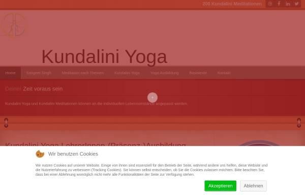 Vorschau von www.yogaraum.de, Kundalini Yoga