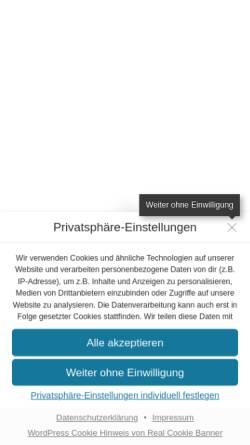 Vorschau der mobilen Webseite lag-tanz-hessen.de, Landesarbeitsgemeinschaft Tanz Hessen e.V.