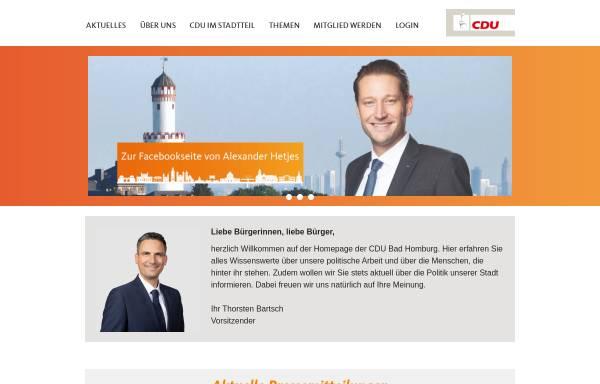 Vorschau von www.cdu-badhomburg.de, CDU Bad Homburg