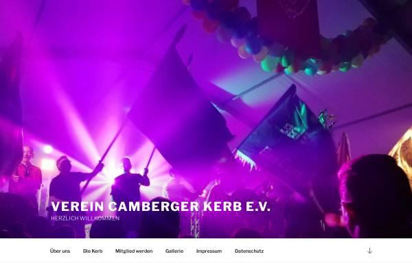 Vorschau von www.camberger-kerb.de, Verein zur Förderung des Brauchtums Camberger Kerb e.V.