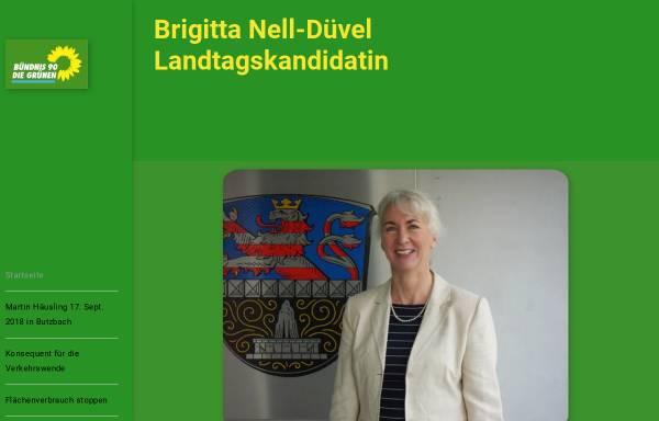 Vorschau von nell-duevel.de, Brigitta Nell-Düvel