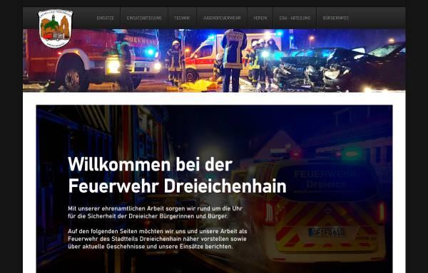 Vorschau von www.feuerwehr-dreieichenhain.de, Freiwillige Feuerwehr Dreieich-Dreieichenhain