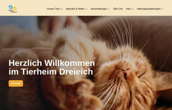 Vorschau von www.tierheim-dreieich.de, Tierheim Dreieich e.V.