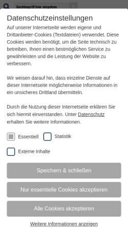 Vorschau der mobilen Webseite www.giessen-evangelisch.de, Evangelische Kirche in Gießen