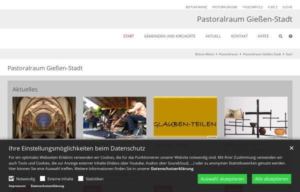 Vorschau von www.st-thomas-morus-giessen.de, Katholische Pfarrgemeinde St. Thomas Morus