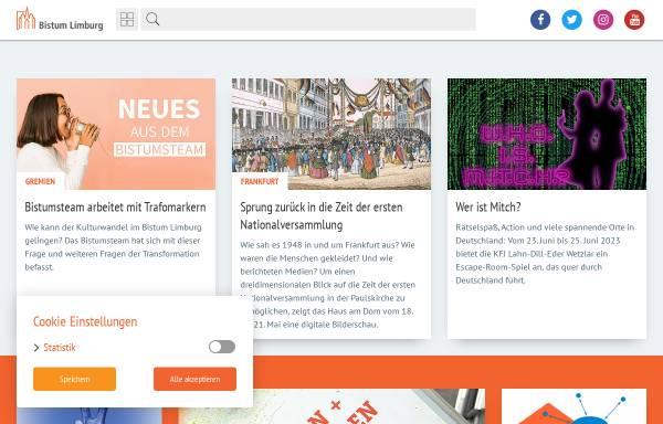 Vorschau von www.bistumlimburg.de, Bistum Limburg