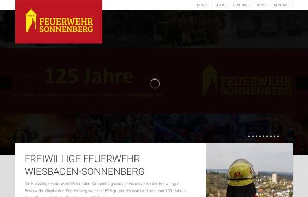 Vorschau von www.feuerwehr-sonnenberg.de, Freiwillige Feuerwehr Wiesbaden-Sonnenberg 1896