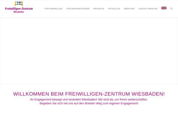 Vorschau von www.fwz-wiesbaden.de, Freiwilligenzentrum Wiesbaden e.V.