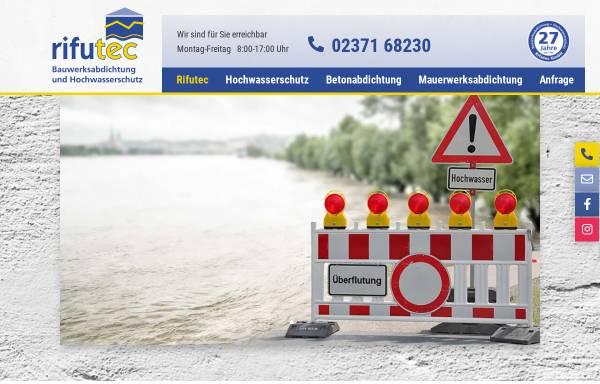 Vorschau von www.rifutec.de, rifutec GmbH