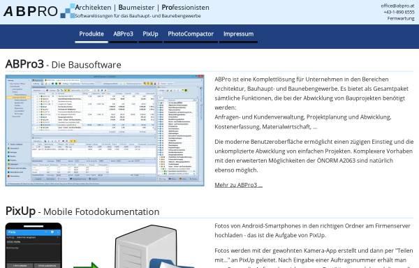 Vorschau von www.abpro.at, ABPro
