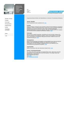 Vorschau der mobilen Webseite www.angerland-data.de, Angerland Data GmbH