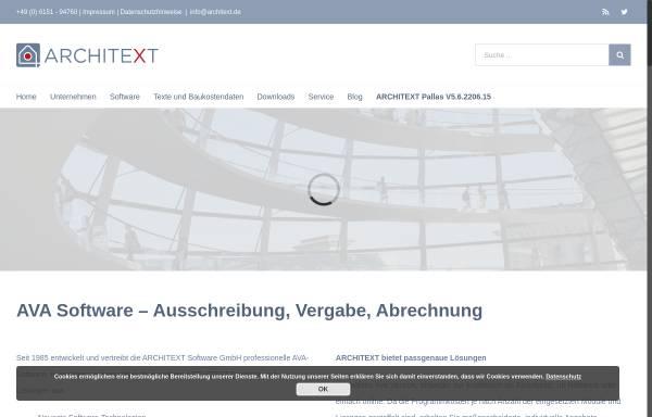 Vorschau von www.architext.de, Architext Software GmbH