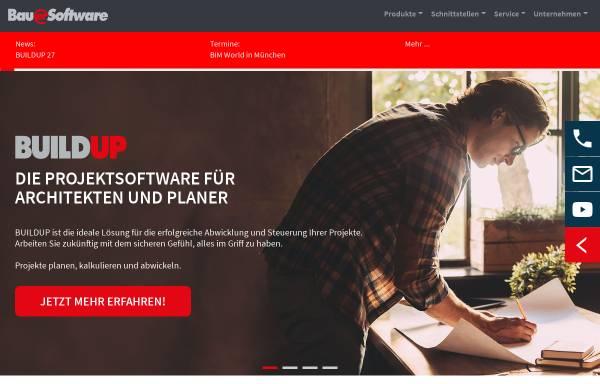 Vorschau von www.bauer-software.de, Bauer Software