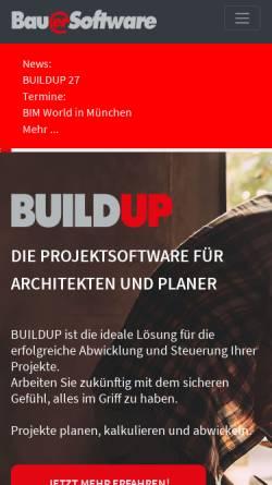 Vorschau der mobilen Webseite www.bauer-software.de, Bauer Software