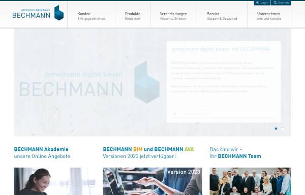 Vorschau von www.bechmann-ava.de, Bechmann und Partner GmbH