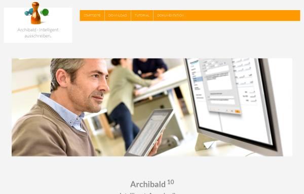 Vorschau von archibald.bwmc.net, Bluewater Multimedia Concepts e. K.