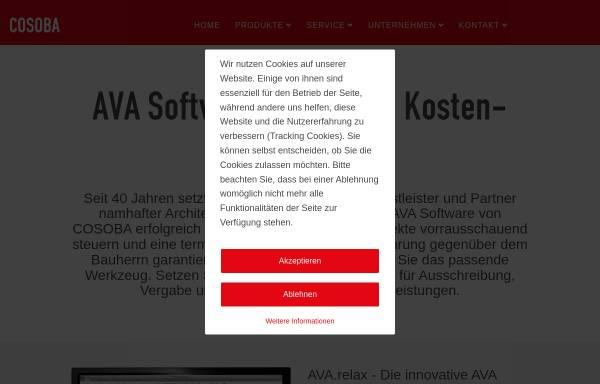 Vorschau von www.cosoba.de, Cosoba GmbH