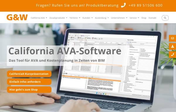 Vorschau von www.gw-software.de, G&W Software Entwicklung GmbH