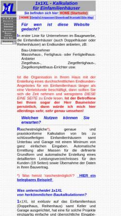 Vorschau der mobilen Webseite www.1x1xl.at, Walter Romano