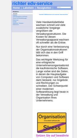 Vorschau der mobilen Webseite www.richter-edvservice.de, Armin Richter EDV-Service