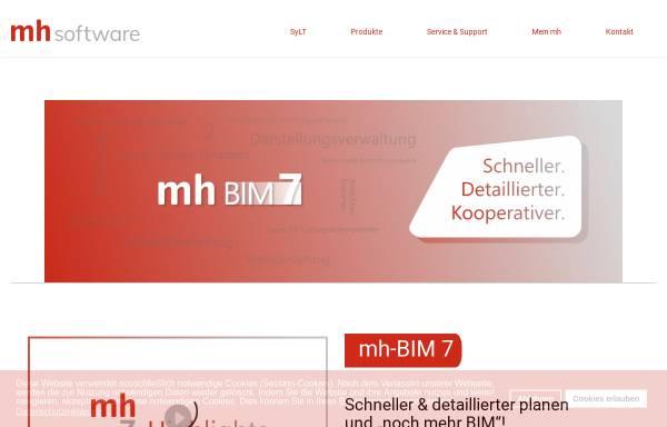 Vorschau von www.mh-software.de, MH-Software GmbH