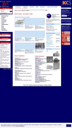 Vorschau der mobilen Webseite www.berlin-finder.de, Berlin Finder