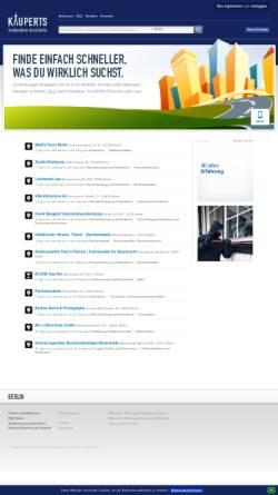 Vorschau der mobilen Webseite berlin.kauperts.de, Kauperts Straßenführer durch Berlin