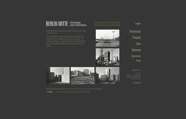 Vorschau von uinic.de, Berlin Mitte - Erkundungen eines Stadtumbaus