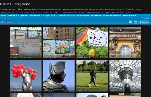 Vorschau von www.berlin-bildergalerie.de, Bilder aus Berlin und Potsdam