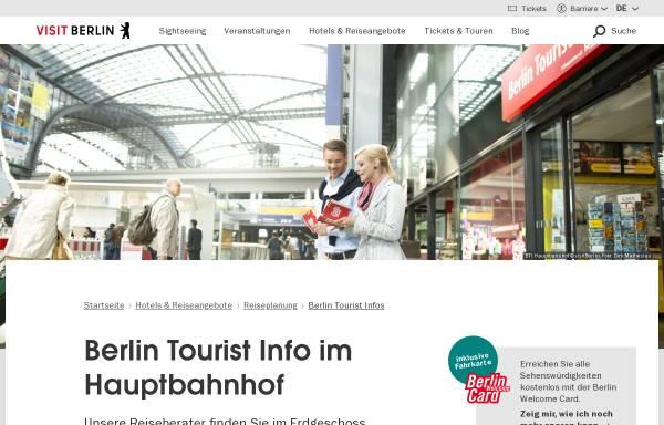 Vorschau von www.visitberlin.de, Berlin Tourist Information