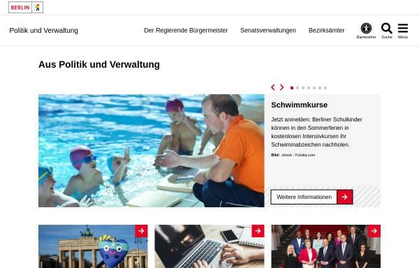 Vorschau von www.berlin.de, Land Berlin