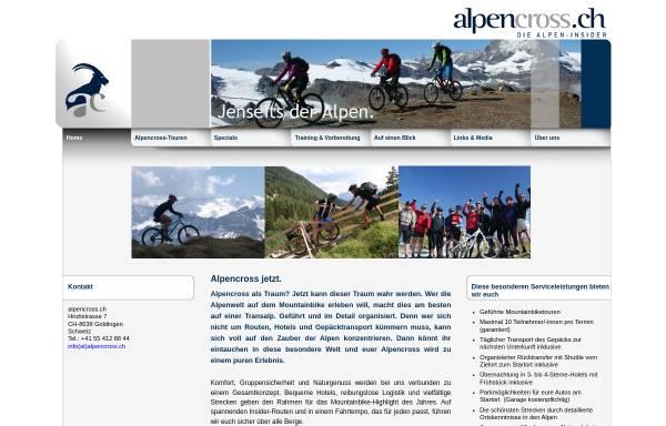 Vorschau von www.alpencross.ch, Alpencross.ch