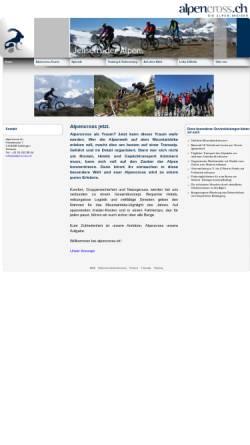 Vorschau der mobilen Webseite www.alpencross.ch, Alpencross.ch