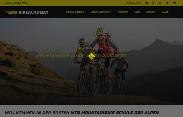 Vorschau von www.bikeacademy.at, Bikeacademy, Kurt Exenberger
