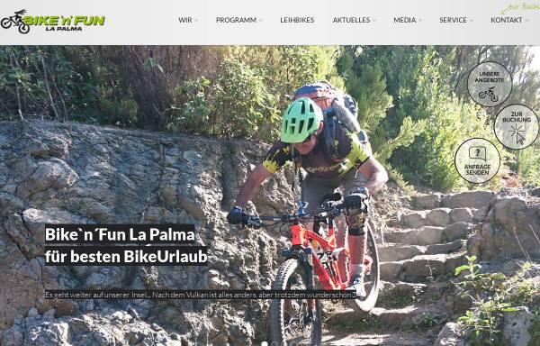 Vorschau von www.bikenfun.de, Bike'n'Fun La Palma