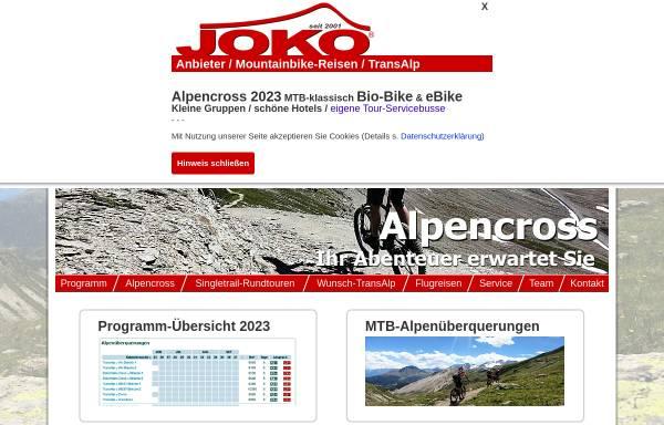 Vorschau von www.joko-biketours.de, Bikeparadies Gardasee
