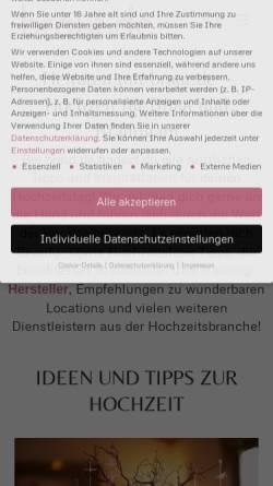 Vorschau der mobilen Webseite www.braut.de, Braut.de