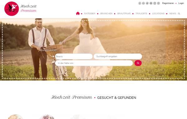 Vorschau von www.hochzeit-premium.de, Hochzeit Premium