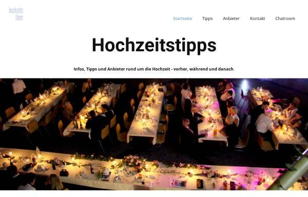 Vorschau von www.hochzeitstipps.ch, Hochzeitstipps für die Schweiz
