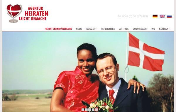 Vorschau von www.heiraten-leicht-gemacht.de, Agentur Heiraten Leicht Gemacht