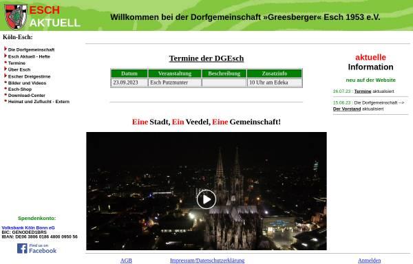 Vorschau von esch-aktuell.de, Esch